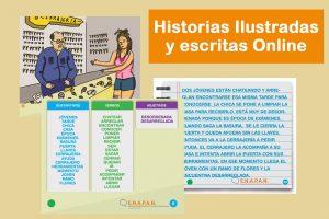 Historias Ilustradas y Escritas Online